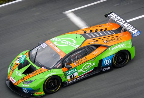 Lamborghini sweep all at the Paul Ricard in the first round of GT Open Championship