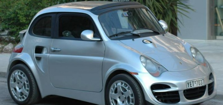 911 inspired Fiat 500 is ugly duckling | Enzari