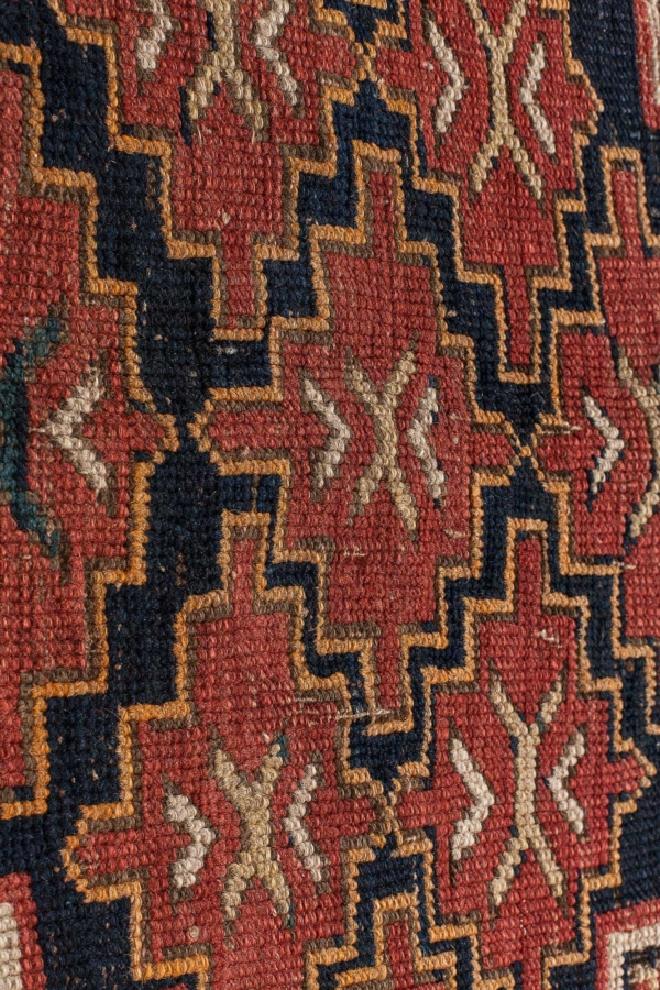 Russian Kazak  Kilim at Essie Carpets, Mayfair London