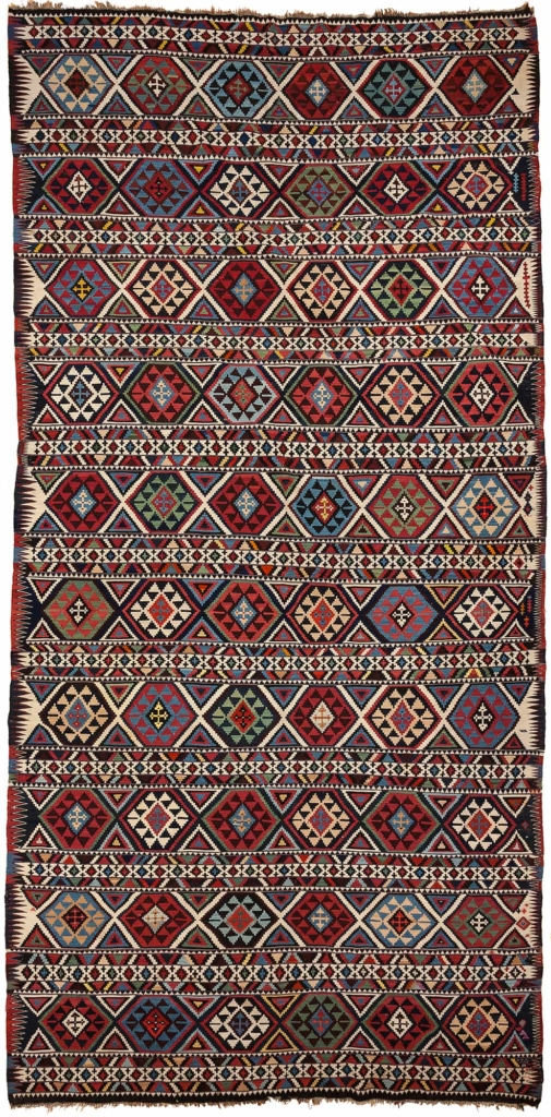 Antique Russian Shirvan  Kilim at Essie Carpets, Mayfair London