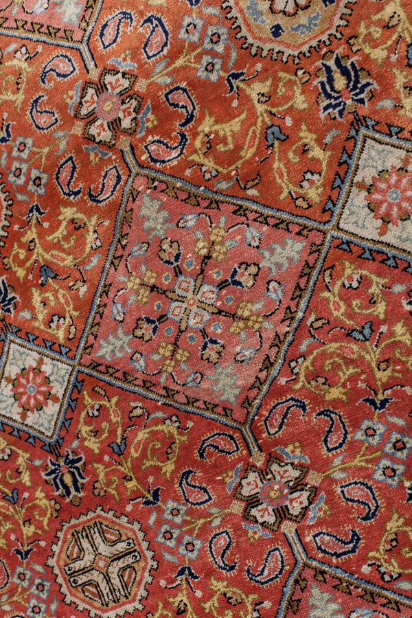 Fine Persian Qum Rug at Essie Carpets, Mayfair London