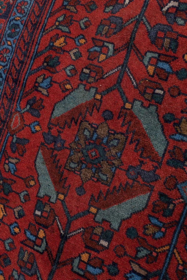 Old Persian Saruk Signed and Dated Rug at Essie Carpets, Mayfair London