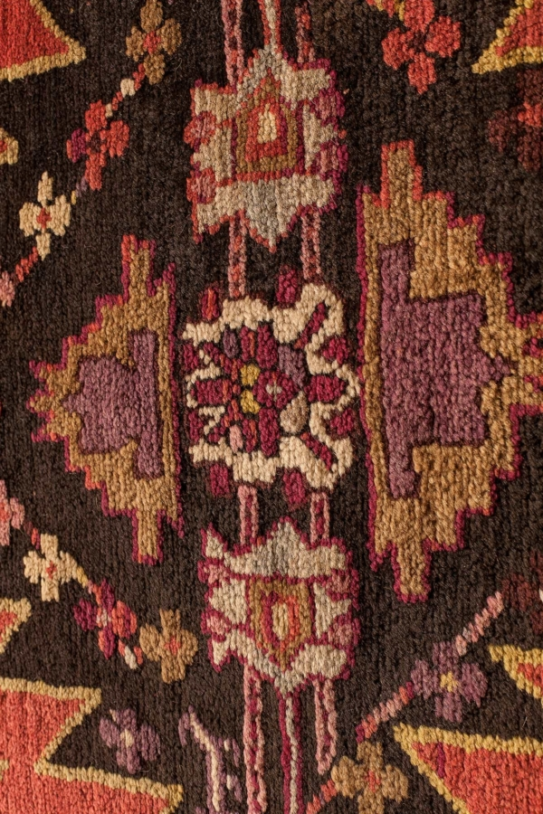 Antique Russian Karabakh Runner Runner at Essie Carpets, Mayfair London
