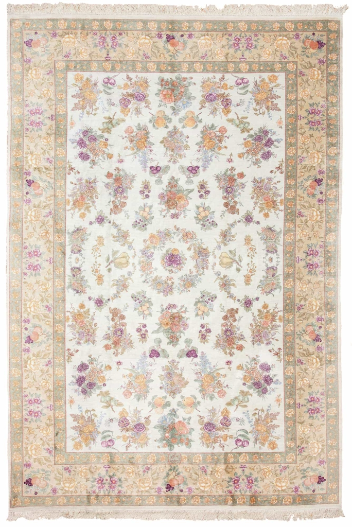 Extremely Fine Signed PersianTabriz Rug at Essie Carpets, Mayfair London
