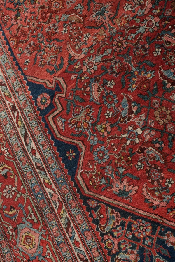 Antique Bidjar Persian Carpet at Essie Carpets, Mayfair London