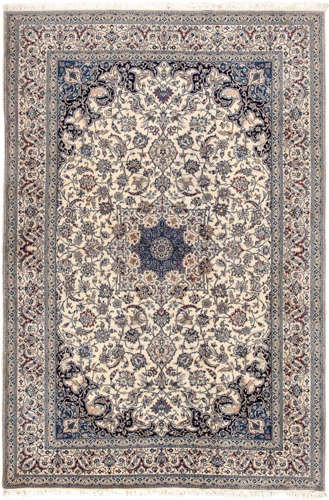 Exquisite Very Fine Persian Nain Rug at Essie Carpets, Mayfair London