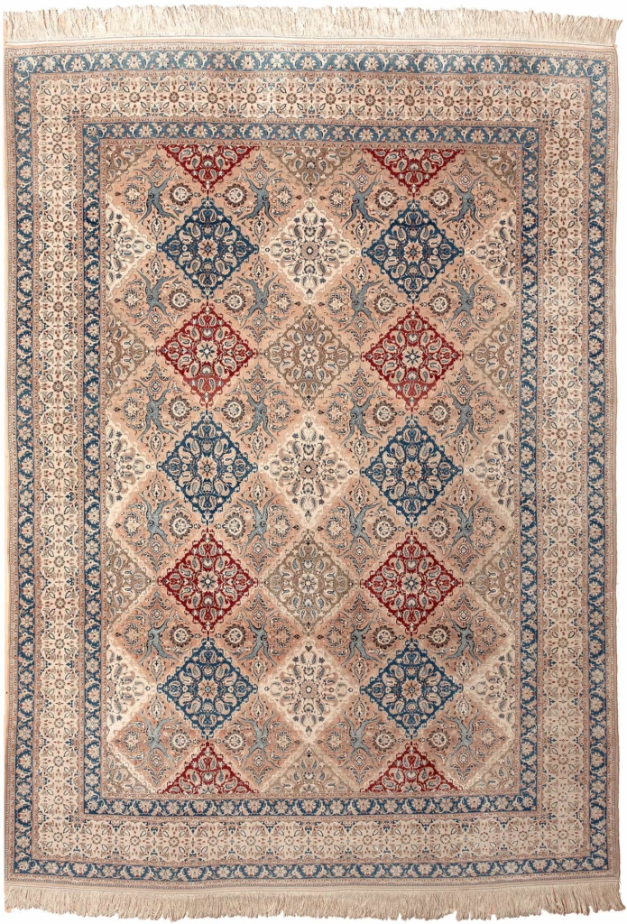 Rare Fine Persian Nain Carpet at Essie Carpets, Mayfair London