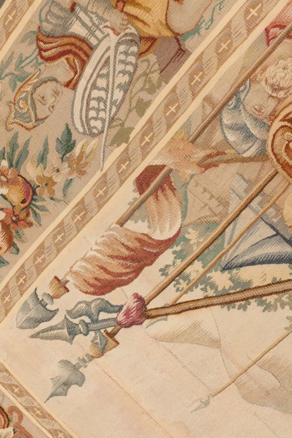 Alexander the Great Antique French Aubusson  Tapestry at Essie Carpets, Mayfair London