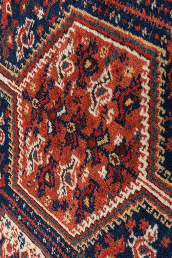 Persian Khamseh Rug at Essie Carpets, Mayfair London