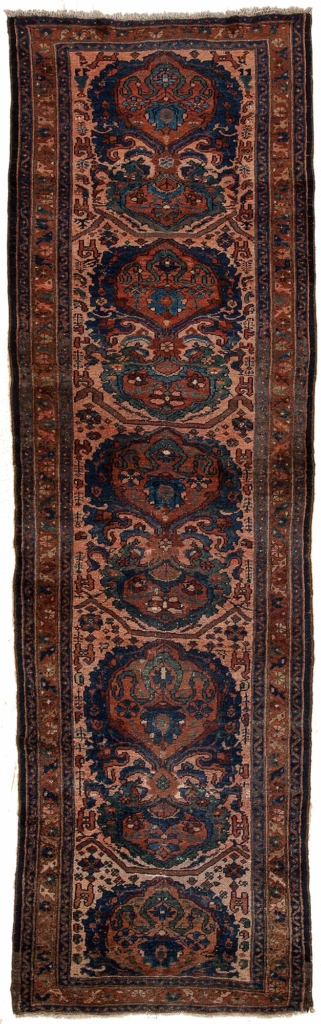 Old Hamadan Runner Runner at Essie Carpets, Mayfair London