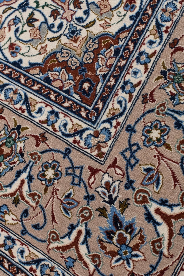 Persian Signed Esfahan Rug at Essie Carpets, Mayfair London