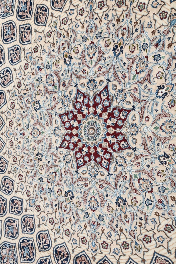 Extremely Fine Persian Nain Carpet at Essie Carpets, Mayfair London