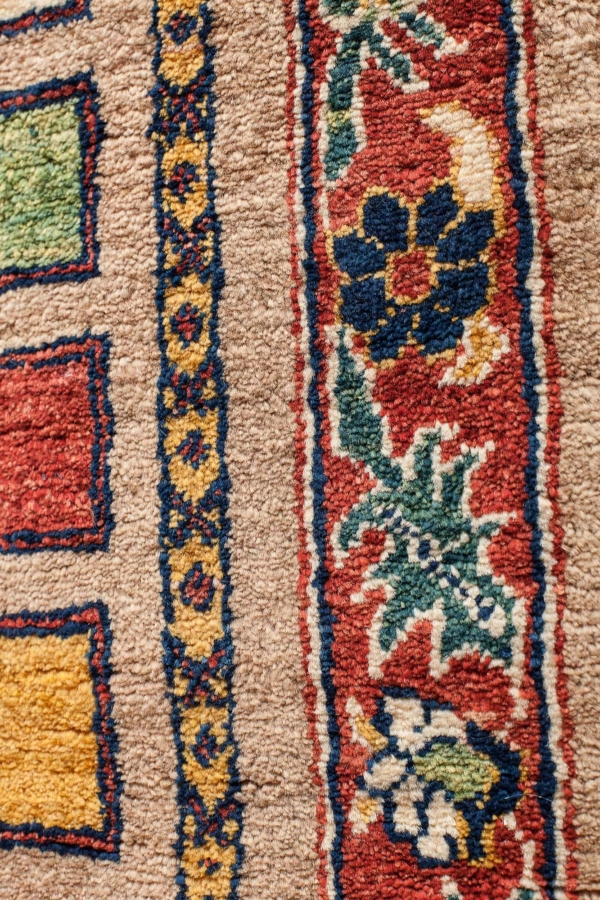Fine Persian Qashqai Runner Runner at Essie Carpets, Mayfair London
