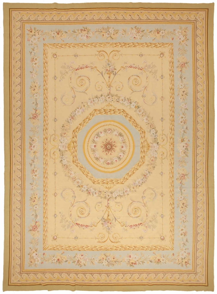 Regal Central Medallion Tapestry at Essie Carpets, Mayfair London