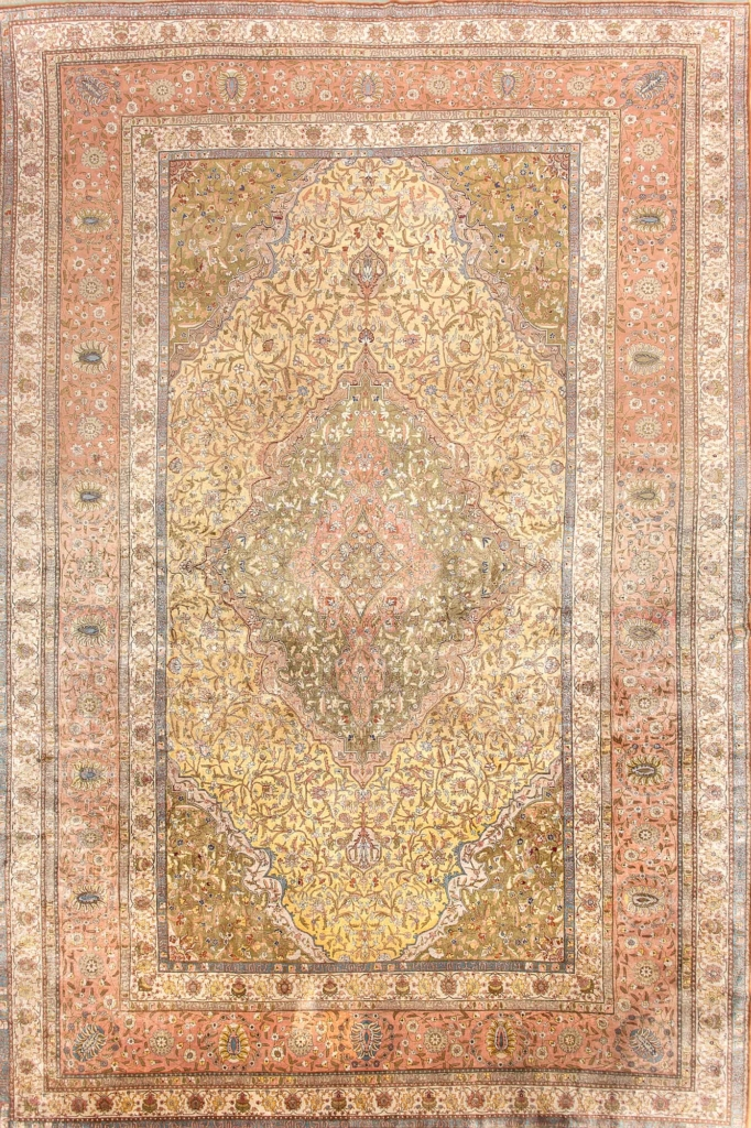 Extremely Fine Turksish Carpet at Essie Carpets, Mayfair London