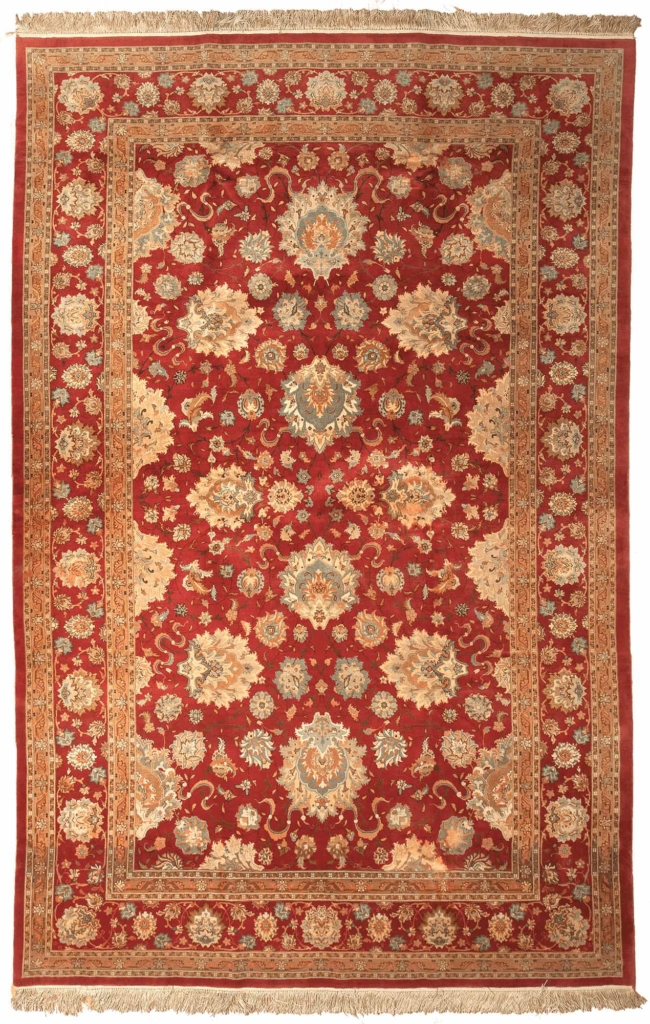 Magnificent Fine Persian Tabriz Woven by Special Order Rug at Essie Carpets, Mayfair London