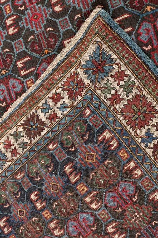 Old Russian Shirvan Runner Runner at Essie Carpets, Mayfair London