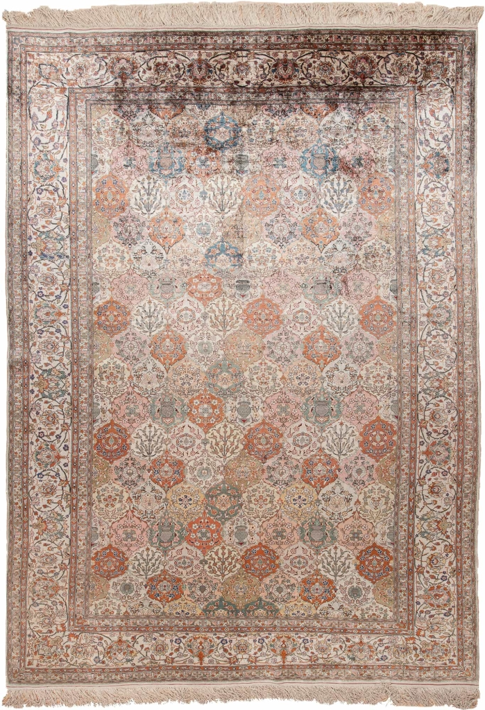 Extremely Fine Turkish Rug at Essie Carpets, Mayfair London