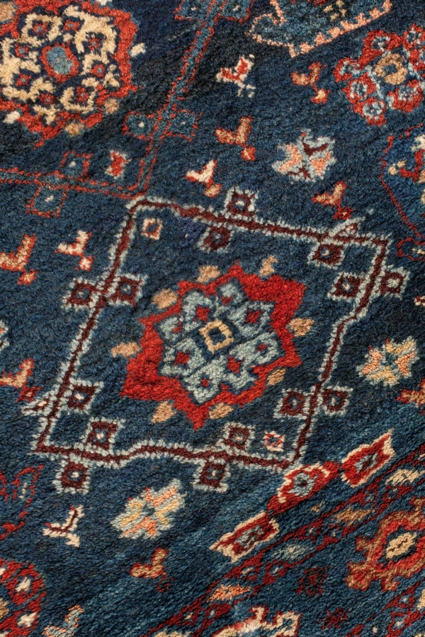 Very Old Bakhtiari Runner at Essie Carpets, Mayfair London
