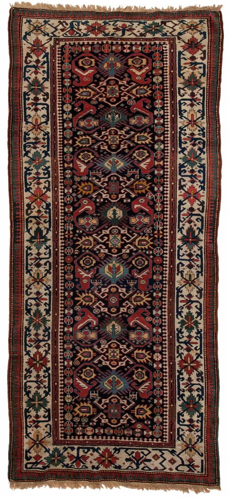Russian Kazak Runner at Essie Carpets, Mayfair London