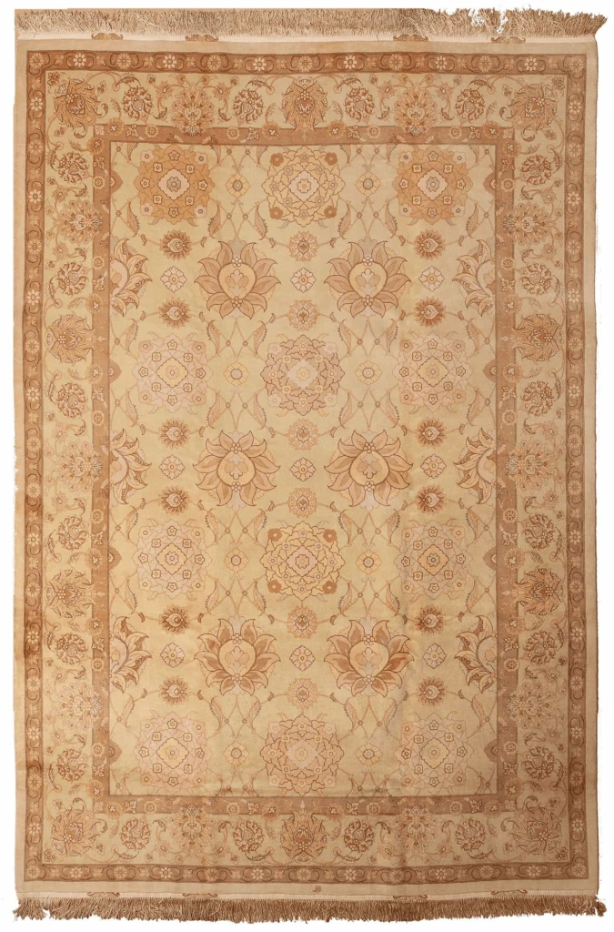 Fine Persian Signed Tabriz Rug at Essie Carpets, Mayfair London