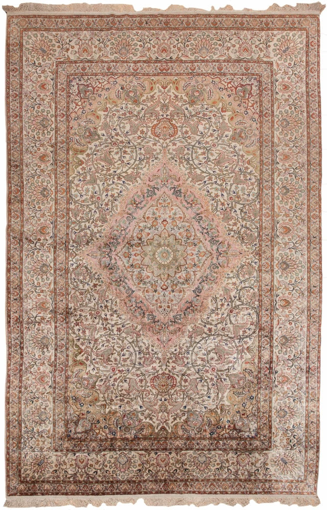 Extremely Fine Turkish Carpet at Essie Carpets, Mayfair London
