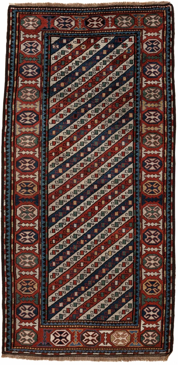 Russian Karabakh Runner at Essie Carpets, Mayfair London