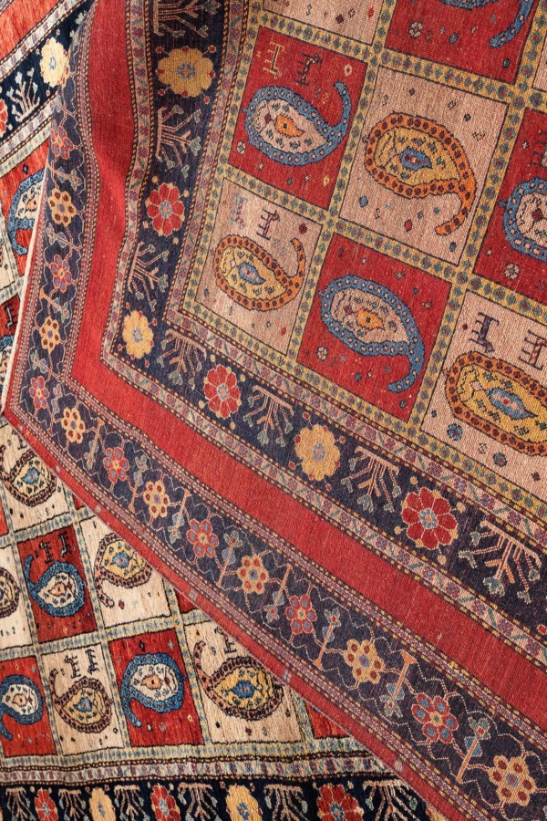 Very Fine Persian Qashqai Gallery Runner at Essie Carpets, Mayfair London