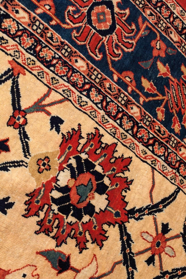 Persian Mahal Carpet at Essie Carpets, Mayfair London