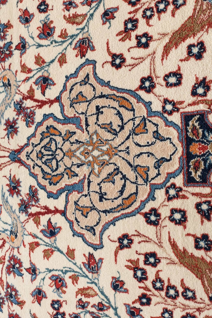 Persian Esfahan Signed  Rug at Essie Carpets, Mayfair London
