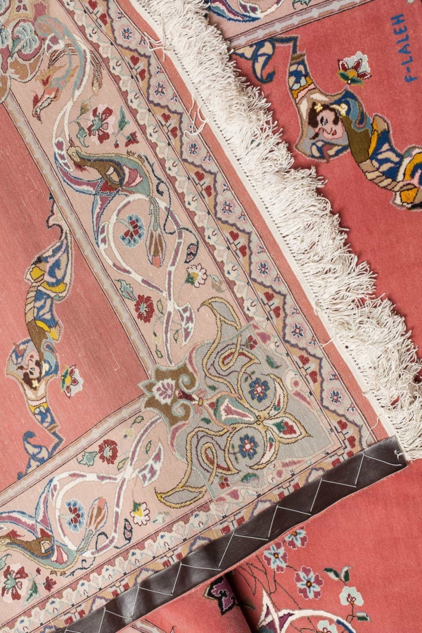 Persian Signed Tabriz Rug at Essie Carpets, Mayfair London