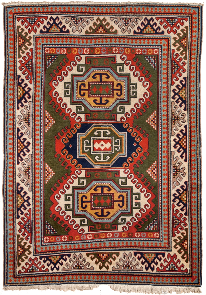 Russian Kazak Rug at Essie Carpets, Mayfair London