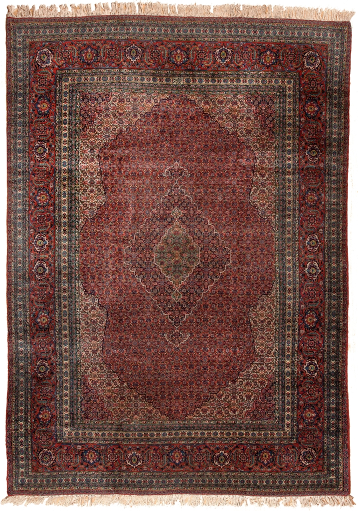 Very Fine Old Signed Persian Tabriz Carpet at Essie Carpets, Mayfair London