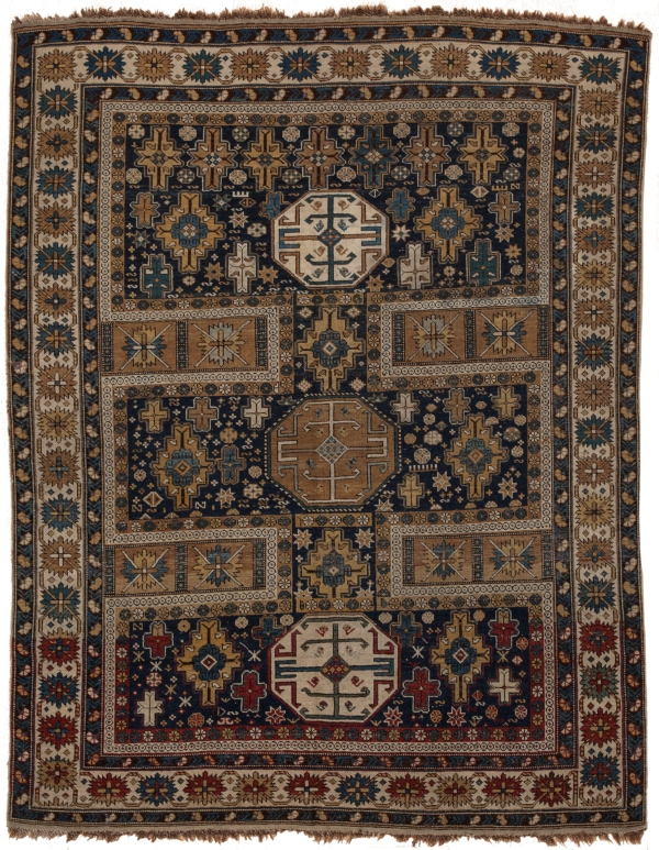 Antique Russian Shirvan Rug at Essie Carpets, Mayfair London