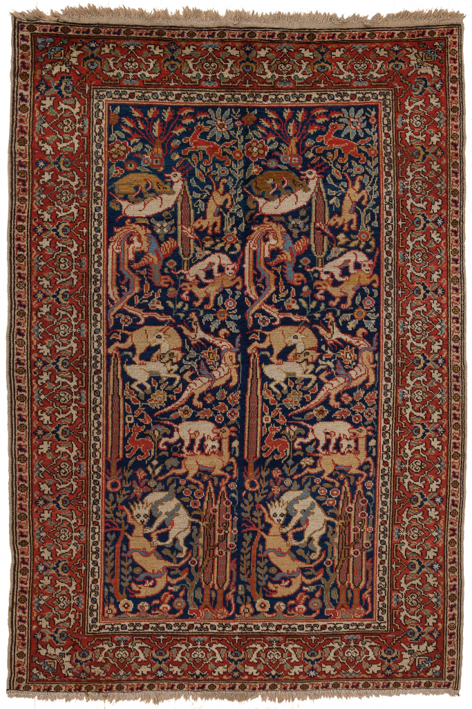 Old Turkish Rug at Essie Carpets, Mayfair London