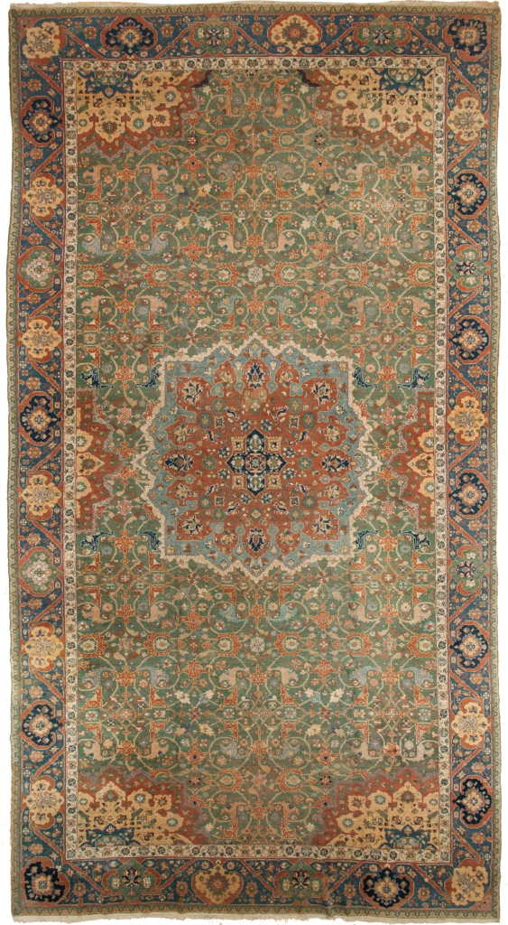 Old Armenian Gallery Size Carpet at Essie Carpets, Mayfair London