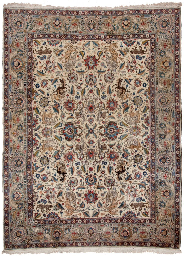 Tabriz Benlian Carpet at Essie Carpets, Mayfair London