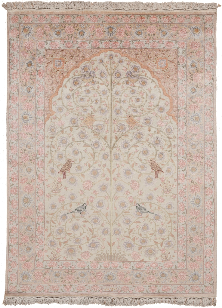 Fine Persian Tabriz (one of a Pair)  Rug at Essie Carpets, Mayfair London