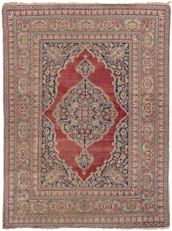 Antique  Tabriz Rug at Essie Carpets, Mayfair London