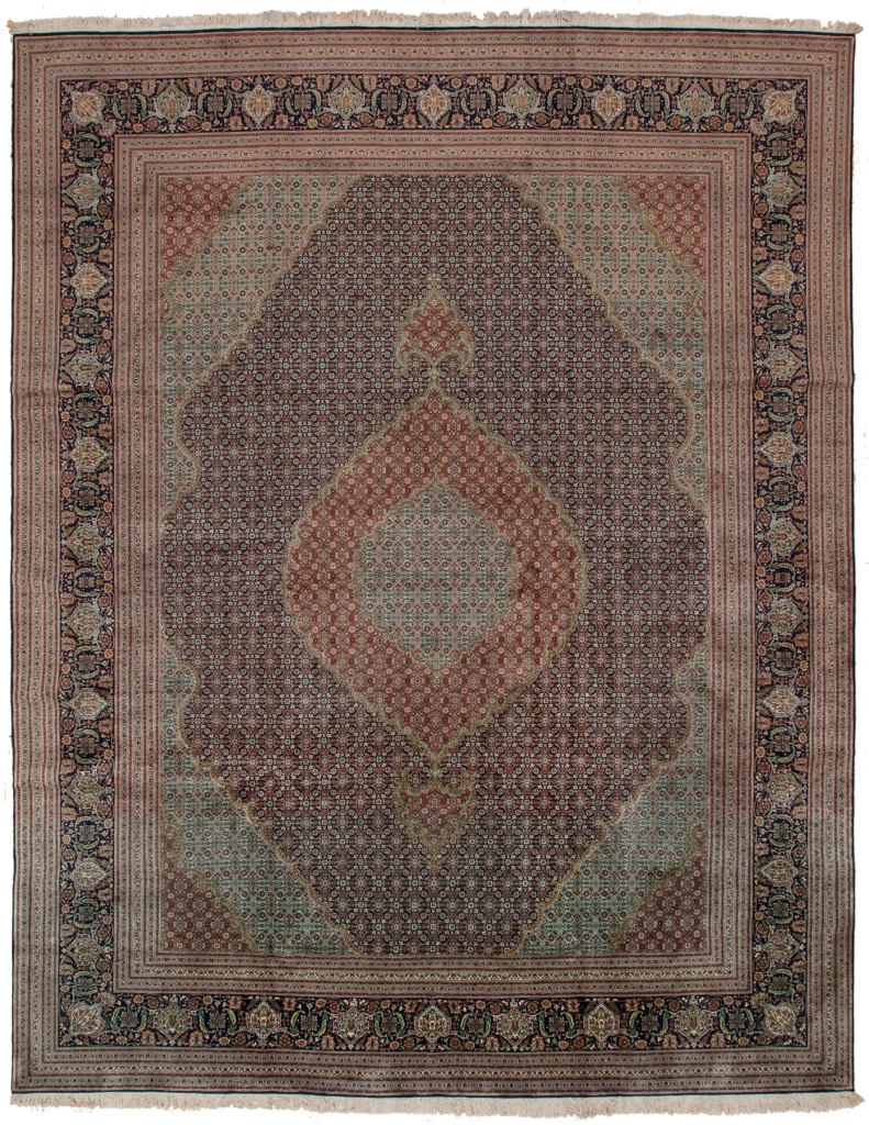 Very Rare Exquisite Fine Persian Tabriz Carpet at Essie Carpets, Mayfair London