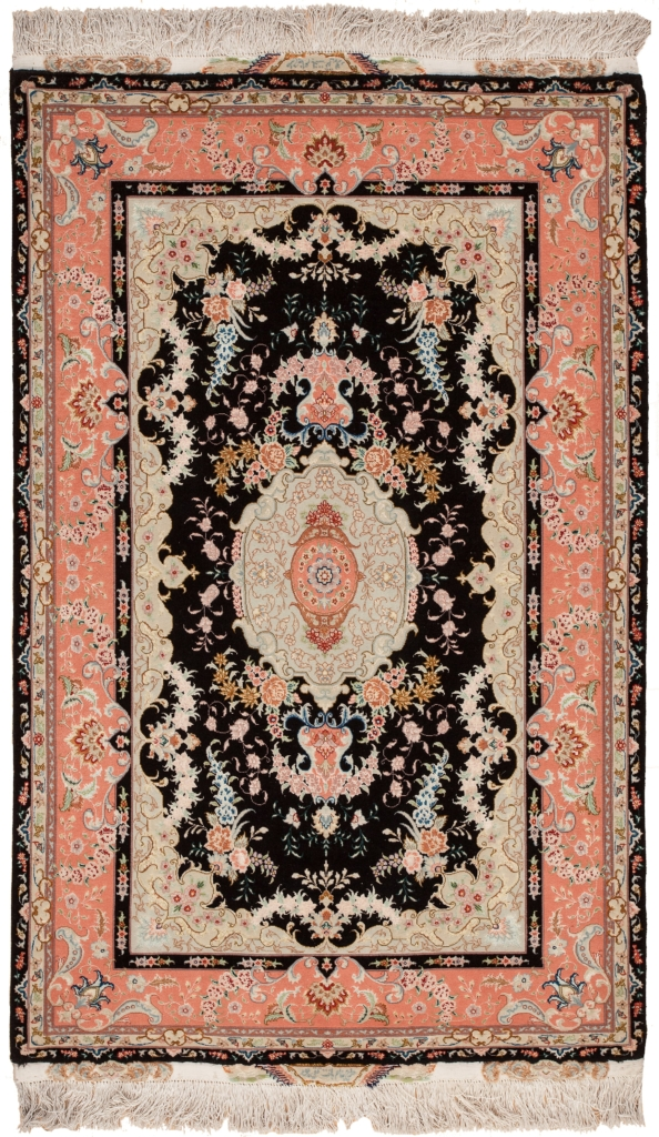 Signed both Ends Persian Tabriz Rug at Essie Carpets, Mayfair London