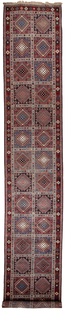Persian Qashqai Yalameh Runner Runner at Essie Carpets, Mayfair London