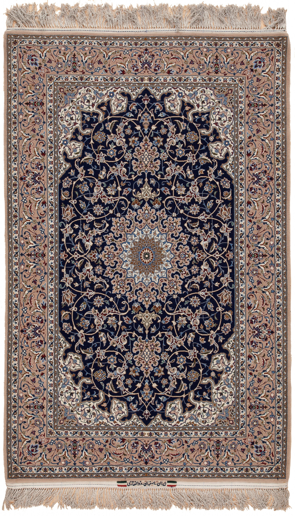 Fine Persian Esfahan Zolfaghari Rug at Essie Carpets, Mayfair London