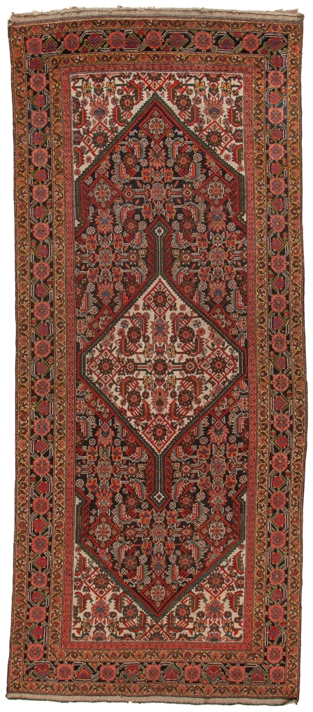 Old Persian Malayer Runner at Essie Carpets, Mayfair London