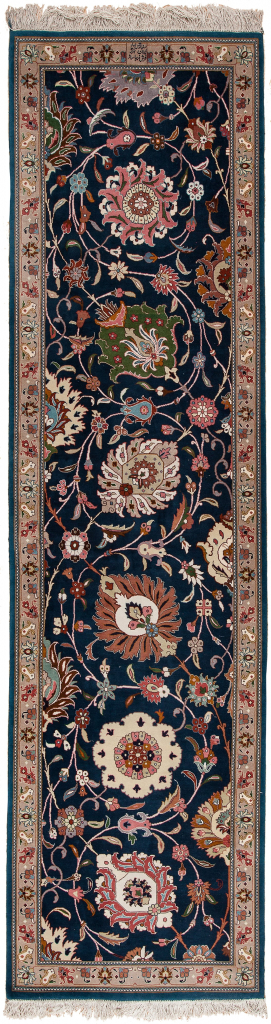 Fine Persian Tabriz Runner Signed Runner at Essie Carpets, Mayfair London