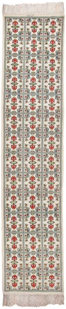 Fine Persian Tabriz Runner Signed Carpet at Essie Carpets, Mayfair London