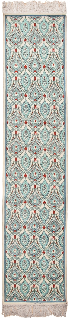 Persian Tabriz Runner Signed Runner at Essie Carpets, Mayfair London