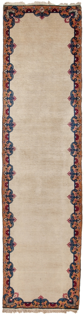 Dated Persian Tabriz Runner at Essie Carpets, Mayfair London