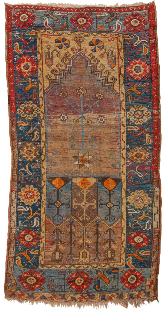Antique Turkish Runner at Essie Carpets, Mayfair London