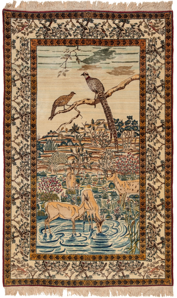 Pictorial Rug at Essie Carpets, Mayfair London